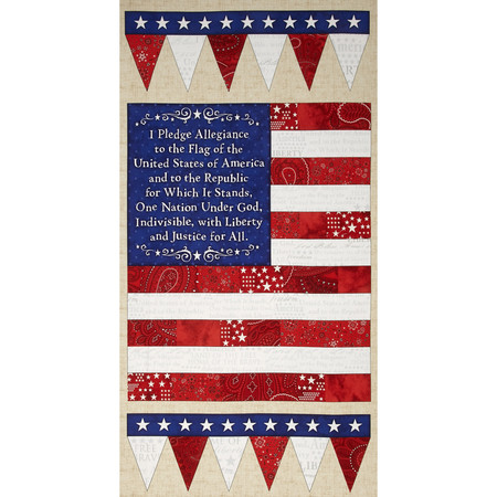 American Dream 24 In. Flag Panel Fabric