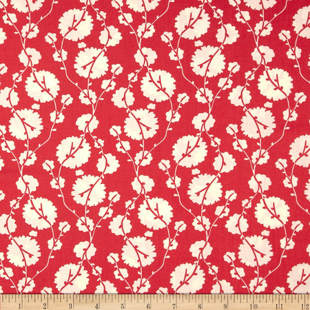 Amy Butler True Colors Cotton Blossom Poppy Fabric