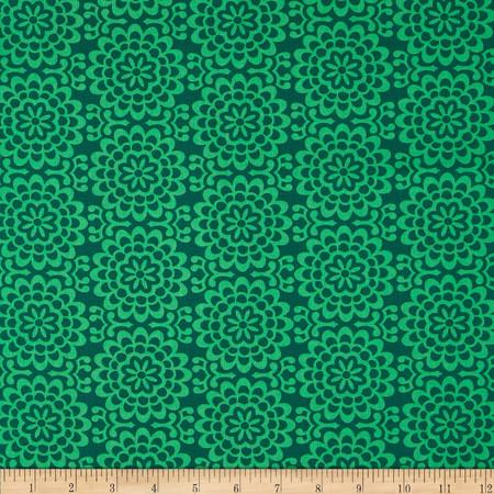 Amy Butler True Colors Wallflower Grass Fabric