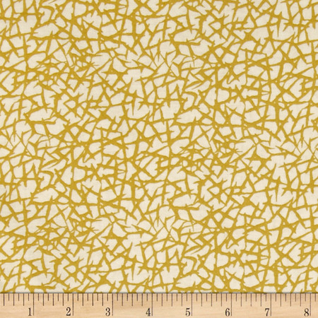 Anapola Thicket Yellow Fabric