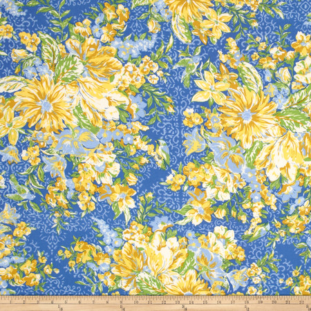April Cornell Glorious Garden In Full Bloom Provence Fabric