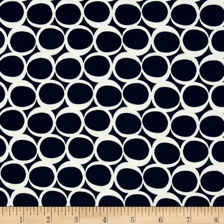 Art Gallery Avantgarde Round Jersey Knit Serene Tide Fabric