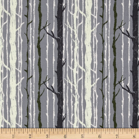 Art Gallery Forest Floor Timber Nightfall Fabric By The Yard