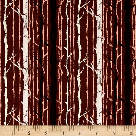 Art Gallery Forest Floor Timber Twillight Fabric By The Yard
