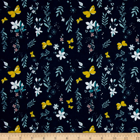 Art Gallery Nightfall Magicial Gust Crisp Fabric By The Yard