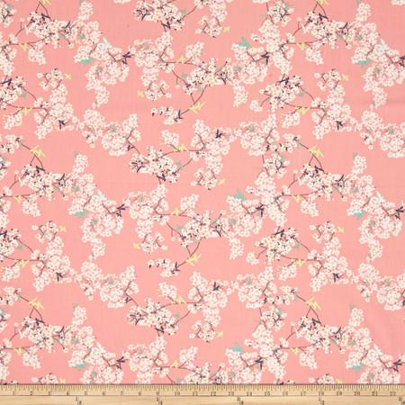 Art Gallery Pandalicious Yinghua Cherrylight Fabric By The Yard