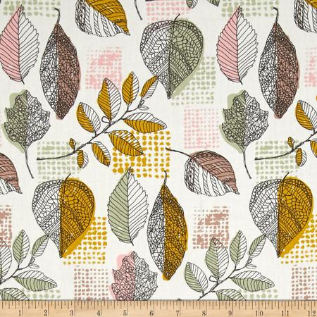 Art Gallery Sketchbook Framework Golden Fabric By The Yard