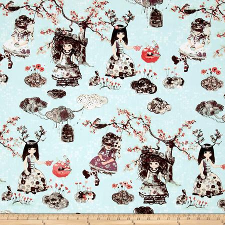 Art Gallery Wonderland Wonderlandia Fondant Fabric By The Yard