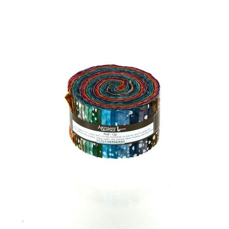 Artisan Batiks Elementals Ring Toss 2.5'' Roll Ups