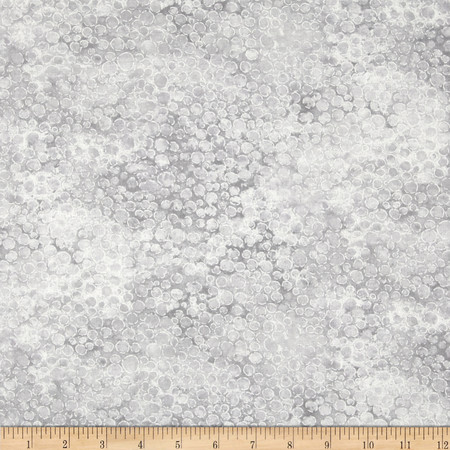 Artisan Spirit Shimmer 108'' Wide Quilt Backing Light Grey Fabric By The Yard
