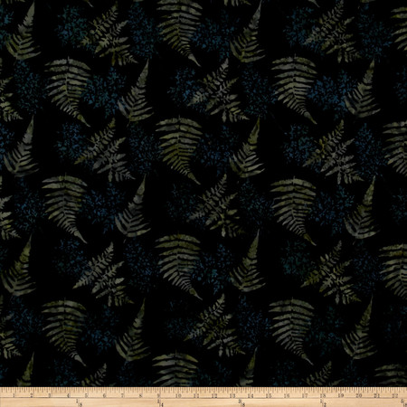 Bali Batiks Handpaints Fern Oregano Fabric By The Yard