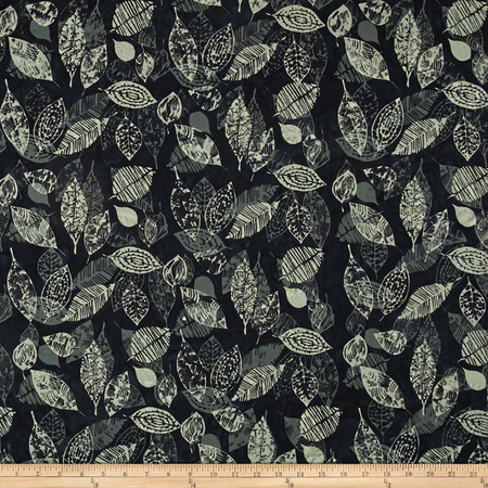 Bali Batiks Handpaints Leaf March Fabric