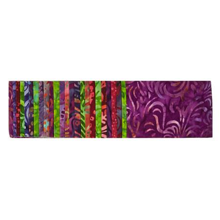 Wilmington Batiks 2.5'' Strips Royal Flush