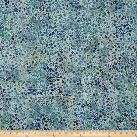 Wilmington Batiks Ivy Vines Lt.Blue Fabric By The Yard