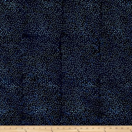 Wilmington Batiks Sticks & Stones Dk.Blue Fabric By The Yard