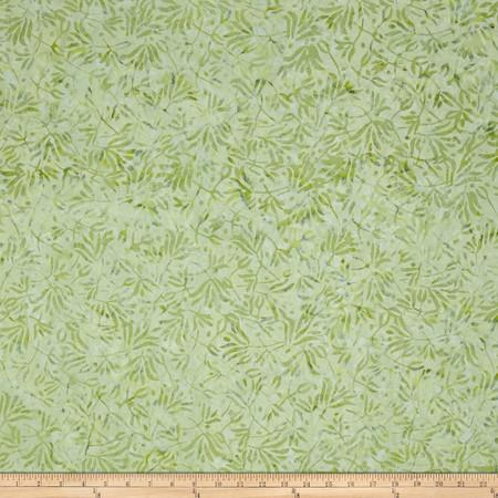 Wilmington Batiks Windswept Light Green Fabric By The Yard