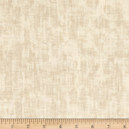 Bella Casa Solid Texture Cream Fabric By The Yard