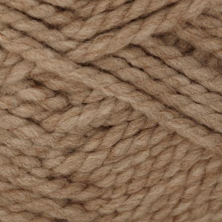 Bernat Wool Up Bulky Yarn 50012 Taupe