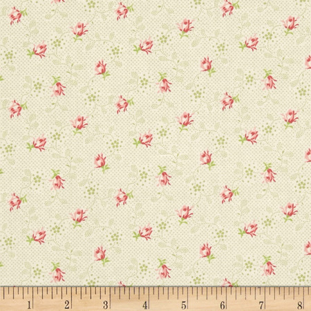 Bon Bon Bebe Mini Bud Green Fabric