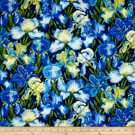 Botanica III The Royal Story Irises Royal Fabric