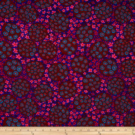 Brandon Mably Pods Wine   Fabric By The Yard
