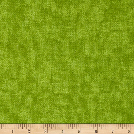 Burlap Texture Brights Dark Green Fabric