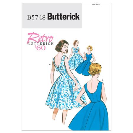 Butterick Misses'/Misses' Petite Dress Pattern B5748 Size A50
