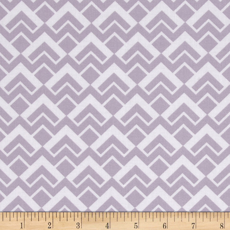 Camelot Pastel Me More Geo Scales Grey Fabric