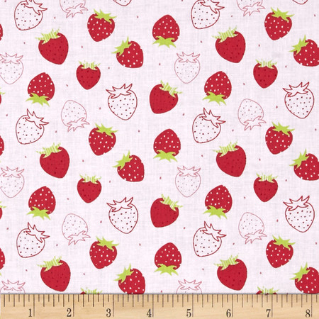 Camelot Scented Strawberry Fabric