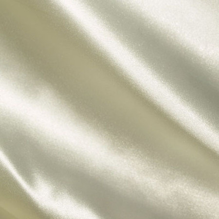 Silky Satin Charmeuse Off White Fabric By The Yard
