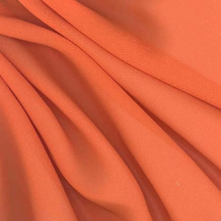 Chiffon Fabric Tangerine