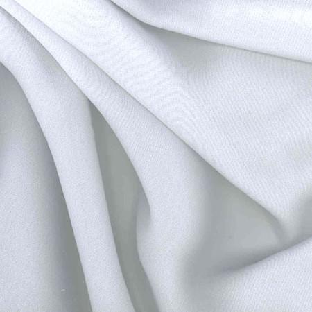 Chiffon Fabric White