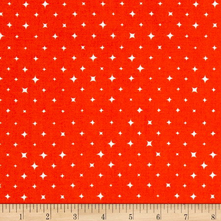 Cloud 9 Orangics We Are All Stars Bloom Fabric By The Yard