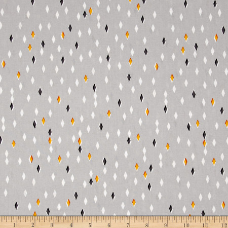 Cloud 9 Organic Glint Gem Gray Fabric By The Yard