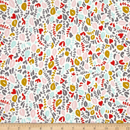 Cloud 9 Organic Kindred Delicata Pink Fabric By The Yard