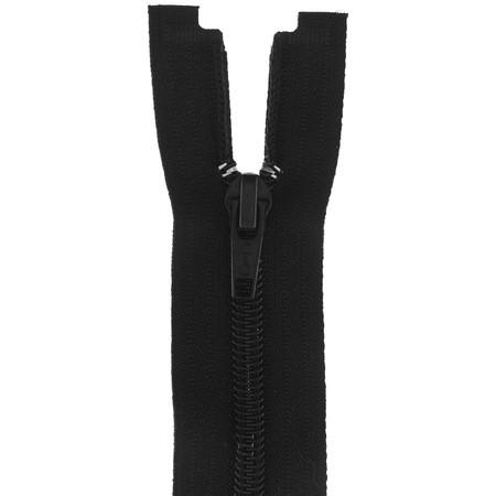 Coats & Clark Coil Separating Zipper 14'' Black