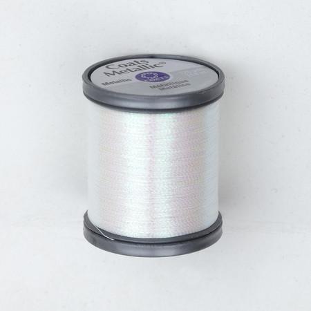 Coats & Clark Metallic Embroidery Thread 125 Yds. Pearl