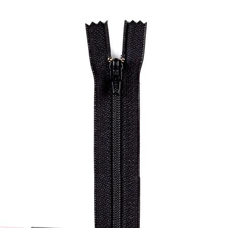 Coats & Clark Poly All Purpose Zipper 4'' Black