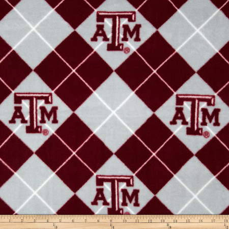 Collegiate Fleece Texas A&M University Fabric By The Yard