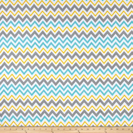 Comfy Flannel Chevron Multi Fabric