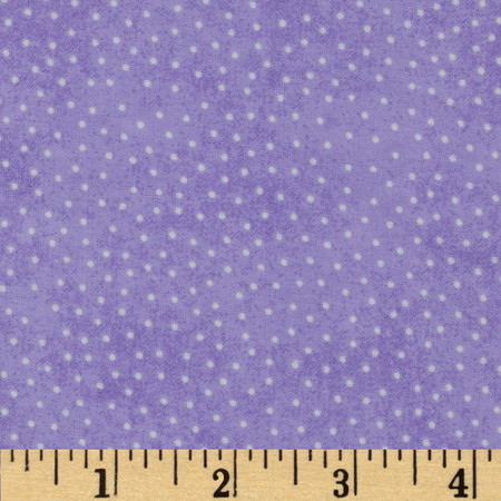 Comfy Flannel Micro Dot Purple Fabric By The Yard