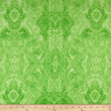 Comfy Flannel Tone on Tone Green Fabric