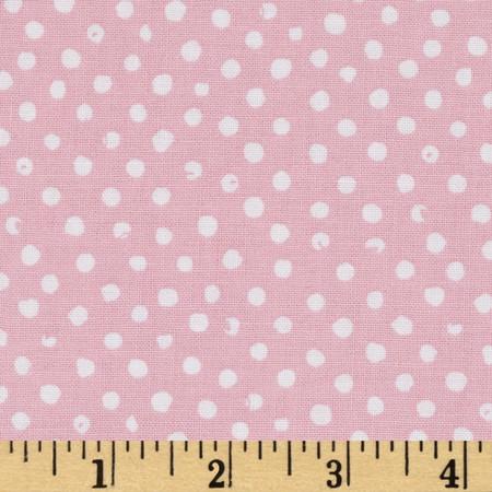 Confetti Dot Blush Fabric