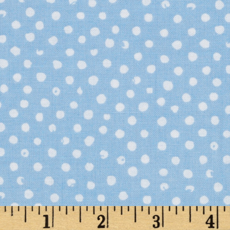 Confetti Dot Sky Fabric
