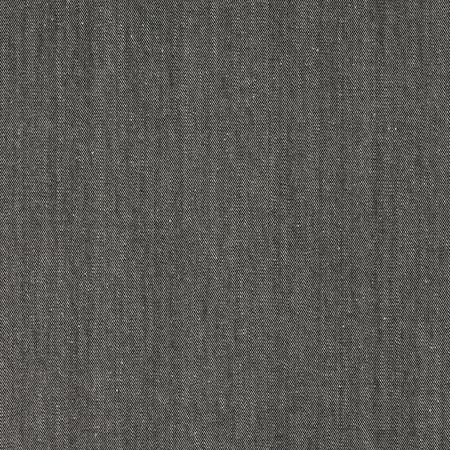 Cotton Denim Solid Silver Fabric