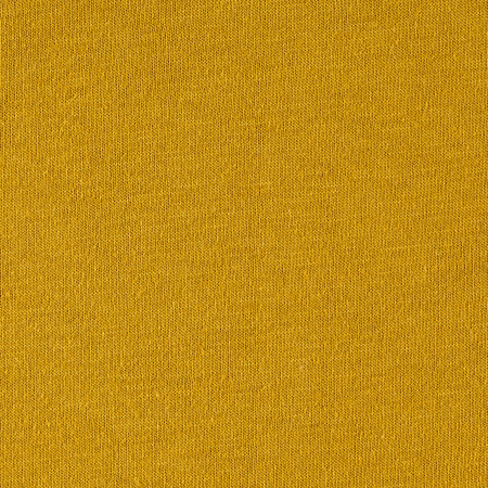 Cotton Jersey Solid Yellow Mustard Fabric By The Yard
