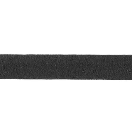 Cotton Twill Tape Roll 1'' Black