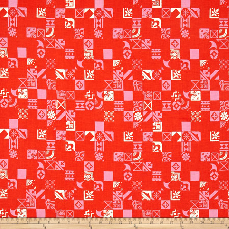 Cotton + Steel Clover Dance Floor Sweetheart Fabric By The Yard