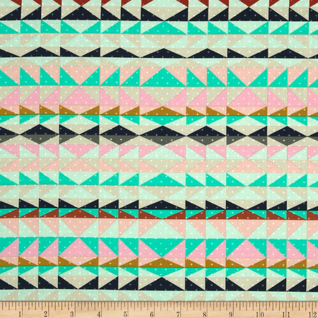 Cotton + Steel Mesa Overlook Serape Pink Fabric By The Yard