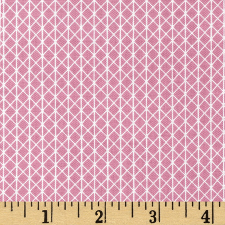Cotton & Steel Netorious Melody Pink Fabric